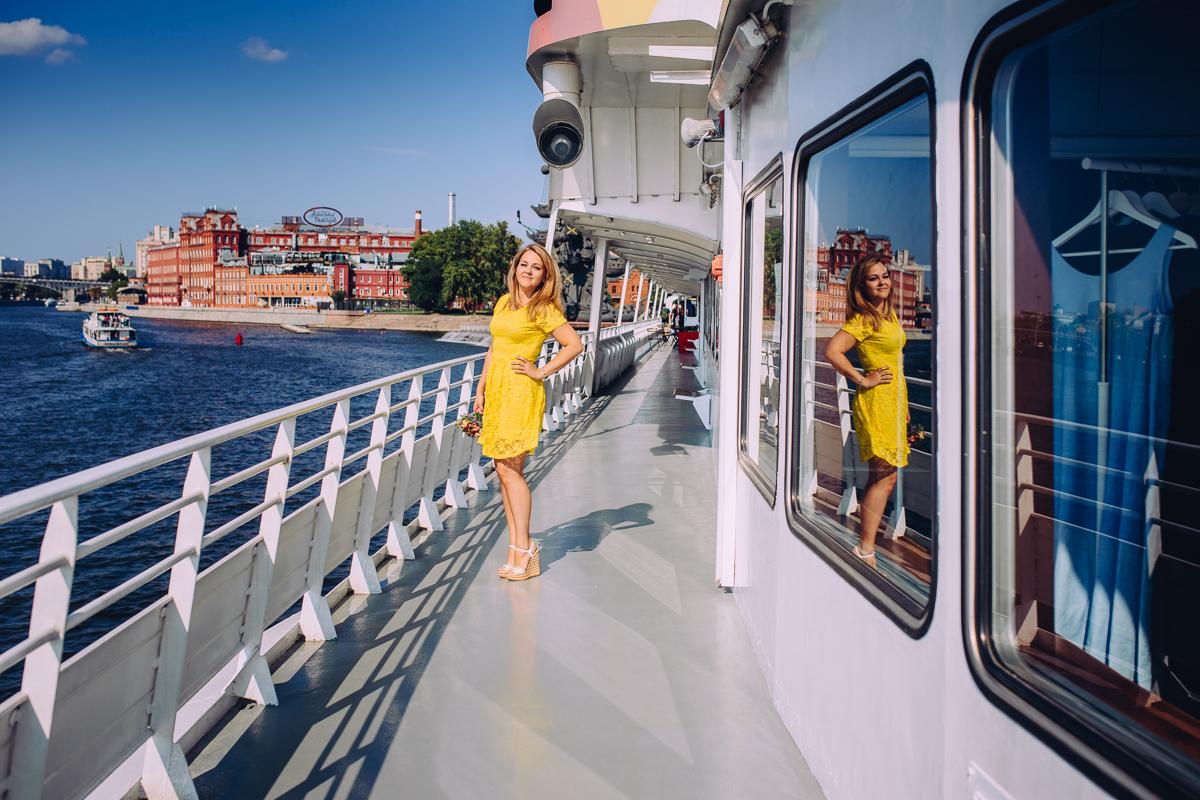 Фотосессия прогулка портрет Москва - Фотограф Анна Тимукова