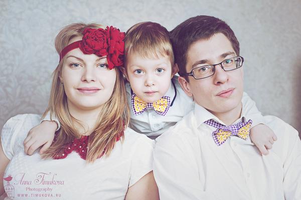 Семейная, Детская фотосессия в Москве (фото)