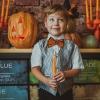 детская семейная фотосессия halloween хэллоуин