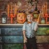 семейная фотосессия halloween хэллоуин праздник